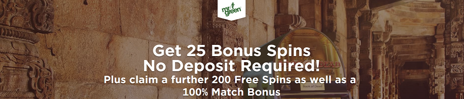 MrGreen online casino with freespins